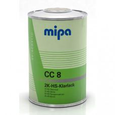 Mipa 2K HS 2+1 CC8 Прозрачный лак премиум класса,комплект(1.5л)