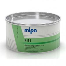 Mipa Шпатлёвка P51 стекловолокно (GLASS) Зеленая, 1,875кг
